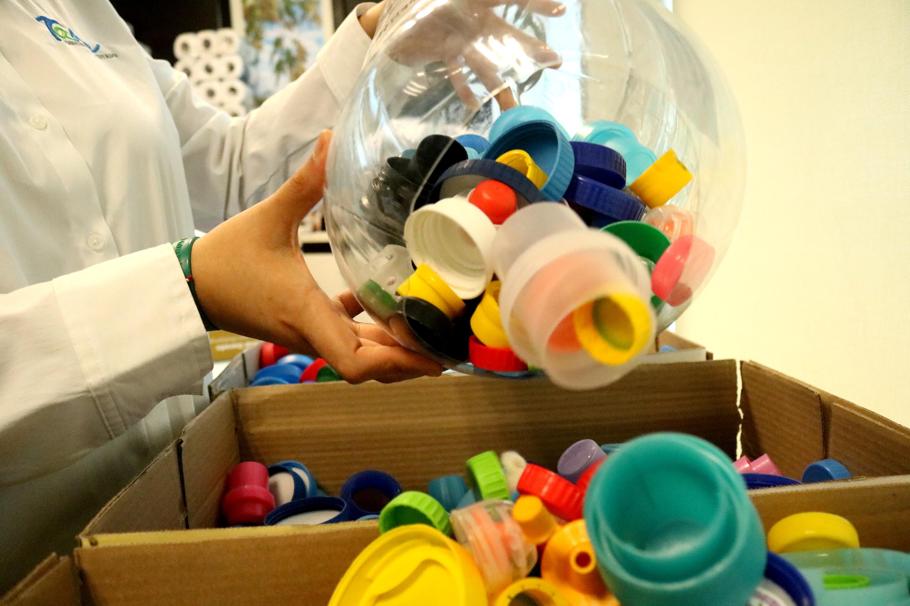 SDU-050-2019.-DIF y Gobierno del Estado fomentan reciclaje de plástico (3)