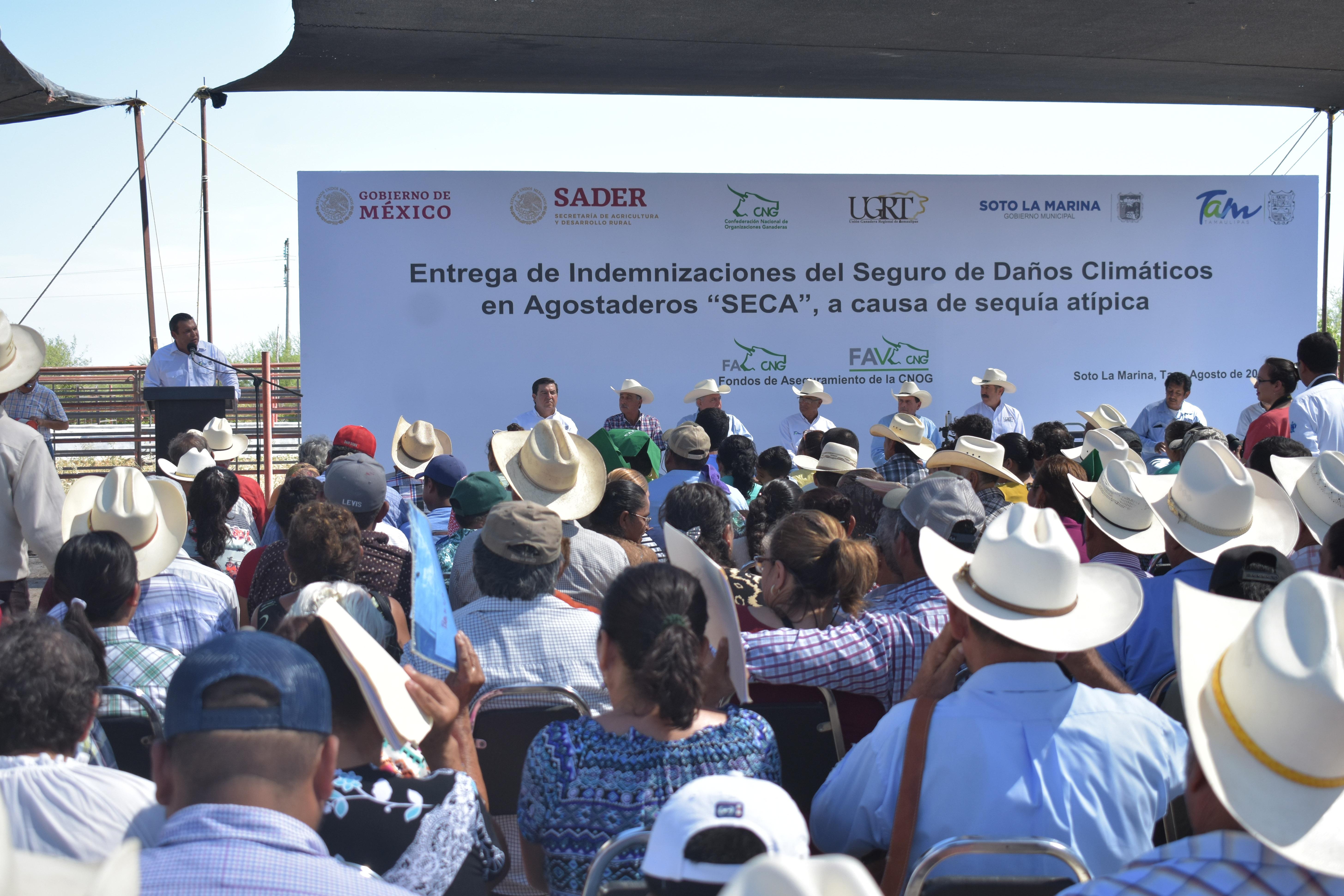 SRU-037-2019.- Reciben ganaderos apoyos por 12.5 mdp para afrontar los estragos por sequía atípica (1)