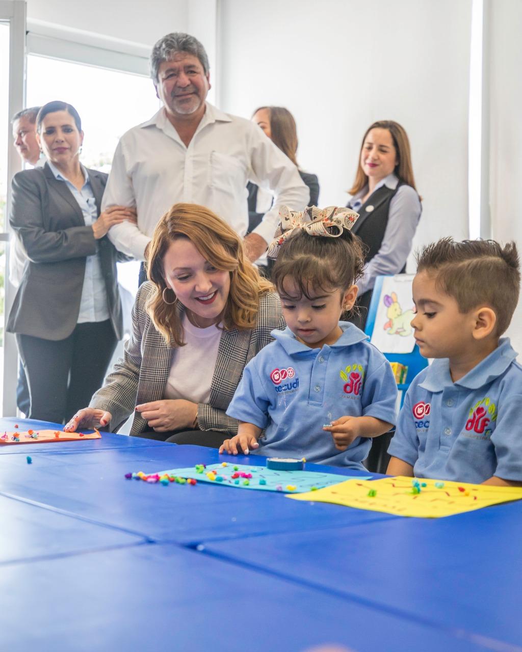 DIF-004-2020.-A dos años del lanzamiento del modelo de cuidado diario infantil único en el país, se inaugura el décimo CECUDI en Tamaulipas (2)