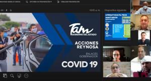 """SDU-077-2020.-Programas Sanitarios del Gobierno de Tamaulipas arrojan resultados positivos contra COVID-19 en Reynosa, aunque """"NO HAY QUE BAJAR LA GUARDIA"""" (2)"""