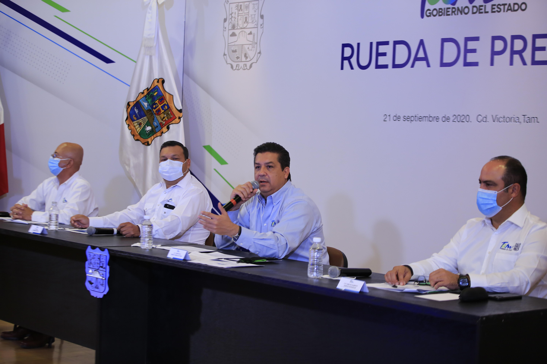 TAM-164-2020.-Hace Gobernador de Tamaulipas llamado a buscar solución a distribución de agua en estados del norte (2)
